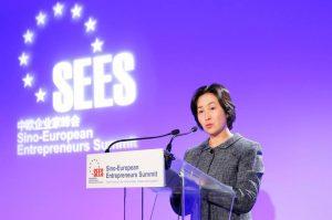 Secretary-General of GTEF, Pansy Ho Gives Keynote at 2020 Sino-European Entrepreneurs Summit - PANSY HO